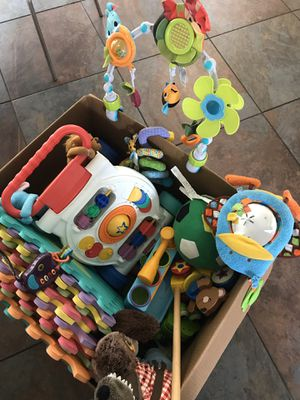 Lot of baby toys (0 to 24 months) for Sale in Tampa, FL