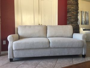 """Sofa brand new / couch / light beige / 77"""" long by 29"""" deep by 34"""" tall for Sale in Peoria, AZ"""