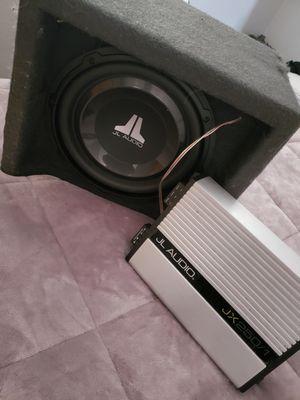 JL 10 inch Subwoofer & Amp. $200 for both. O.b.o for Sale in Denver, CO