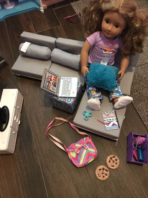 American girl doll and accessories $20 for Sale in Fresno, CA