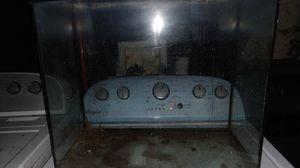 16 gallon Bowfront Fish Tank Aquarium for Sale in Columbus, OH