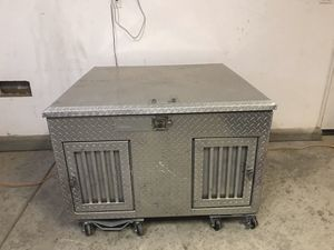 All aluminum dog kennel for Sale in Delano, CA