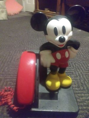 Disney Mickey mouse COLLECTORS 1970S PHONE WORKS AND EVERYTHING for Sale in Norcross, GA