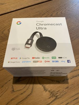 Chromecast ultra for Sale in La Cañada Flintridge, CA