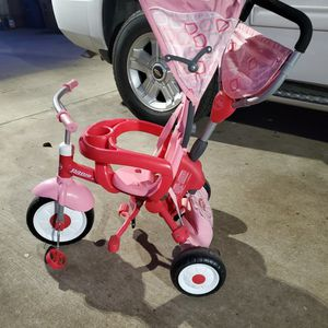 Kids 4 In 1 Radio Flyer Tricycle for Sale in Austin, TX