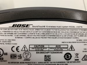 Bose sound link speakers for Sale in Boston, MA