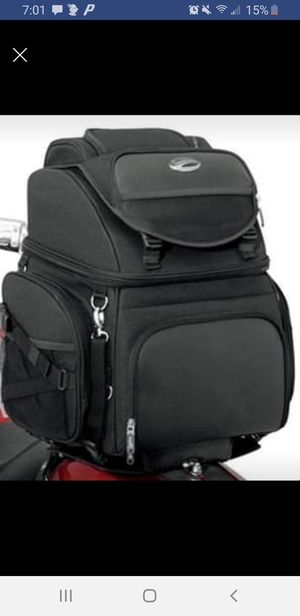 Saddlemen 3400 backseat bar bag for Sale in Plymouth, CT