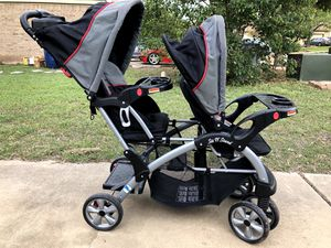 Baby Trend Sit and Stand double stroller for Sale in Cedar Park, TX