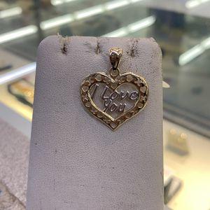 14k Heart Pendant for Sale in Houston, TX