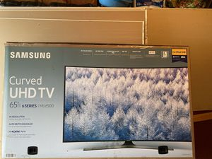 Empty TV box samsung curved 65inch for Sale in Harrisburg, PA