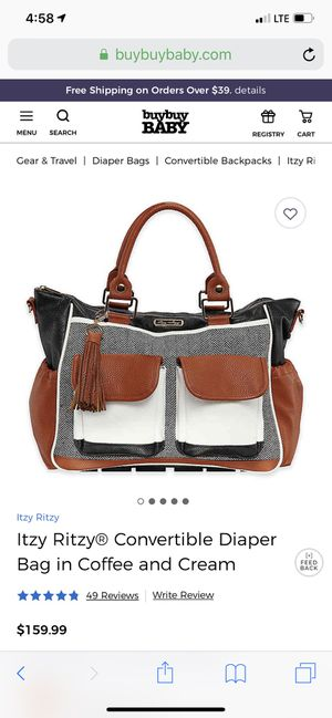 Brand New Itzy Ritzy Diaper bag for Sale in St. Louis, MO