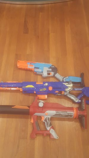 EXTREAMLY RARE NERF GUNS $2,000 value for Sale in Rockville, MD