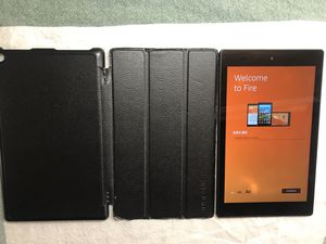 Amazon Fire HD 8 5th Generation Kindle Tablet for Sale in Riverside, CA