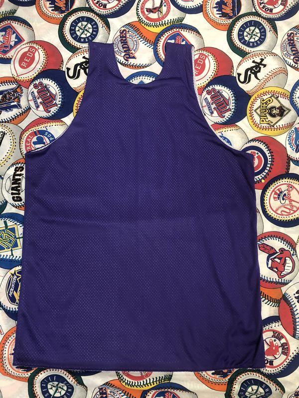 Men's XL 1990 Phoenix Suns Vintage Reversal Champion Basketball Jersey