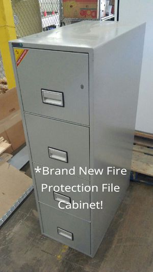 Brand New Fire-Proof Filing Cabinet. Protect Your Documents From Fire. for Sale in Salt Lake City, UT