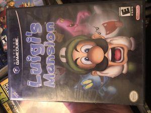 Luigi mansion GameCube for Sale in Henderson, NV