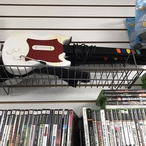 Guitar Hero Guitar Ps2 $80 Each Game Hogs 11am-7pm for Sale in Commerce, CA