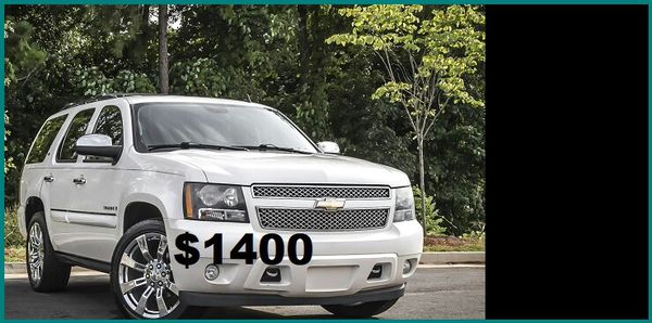 Price$1400 2008 CHEVROLET TAHOE LTZ