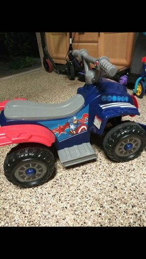 "Battery ""CAPTAIN AMERICA"" 4 wheeler for Sale in Coral Springs, FL"