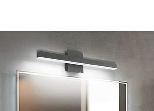 Black Vanity Lights, JOOSSNWELL Dimmable LED Vanity Light Bar 18W 23.63 inch Modern Bathroom Lighting Fixtures Mirror Over Wall Sconce 6000K C for Sale in Rancho Cucamonga, CA