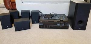 YAMAHA HTR-5230 Home Theater 5.1 AV System with Subwoofer for Sale in Dearborn, MI