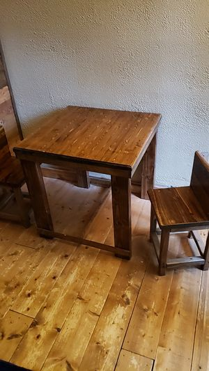Kids table with 2 chairs for Sale in McDonald, PA
