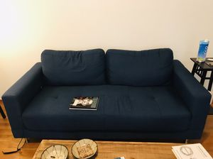 Blue couch for sale for Sale in San Francisco, CA