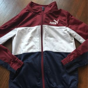 Kids Clothes Size 7 (Puma) Sweat Jacket for Sale in Inglewood, CA