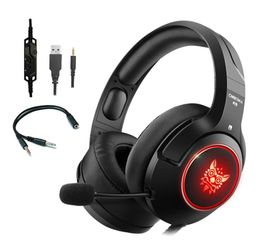 ONIKUMA K9 Bass Surround LED Gaming Headset Headphones with Microphone for Sale in San Gabriel,  CA