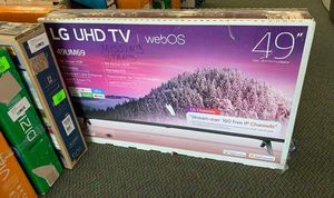 "NEW OPEN BOX LG UHD TV 49"" UTT for Sale in El Paso, TX"