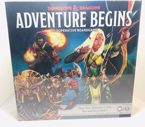 D&D: Adventure Begins Dungeons & Dragons Begins Cooperative Board Game for Sale in Providence,  RI
