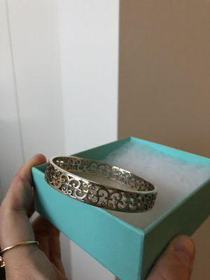 Sterling silver Tiffany bracelet in original box for Sale in Chicago, IL