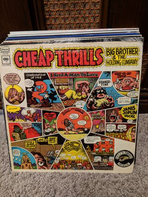 Vinyl-Big Brother and Holding Company-Cheap Thrills for Sale in Seattle, WA