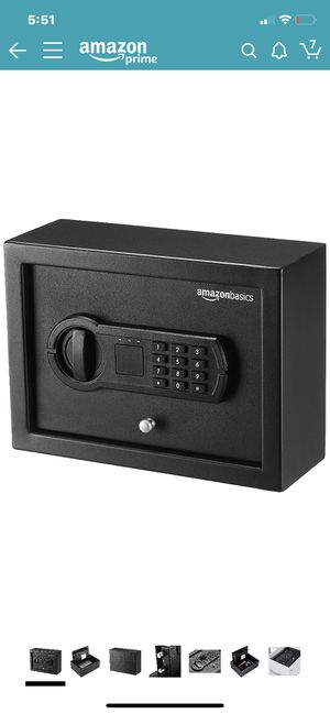 Desk Drawer Safety Box by Amazonbasics for Sale in Winchester, CA
