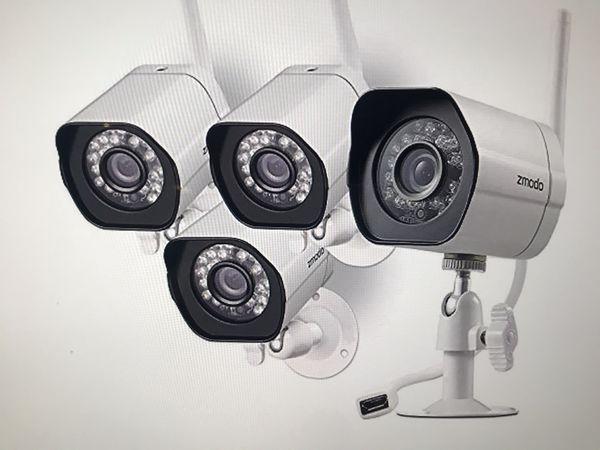 Zmodo wireless camera with night vision