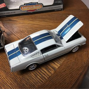 1966 Ford mustang Shelby GT/350 diecast metal Mint for Sale in West Chicago, IL