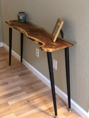 Live edge entry table for Sale in Dallas, TX
