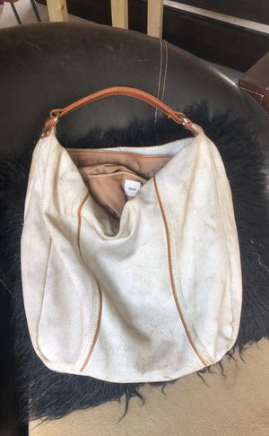Tana Vintage white leather purse for Sale in Deltona, FL