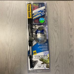 Zebco Ready Tackle Series TELESCO Combo for Sale in Hollywood, FL