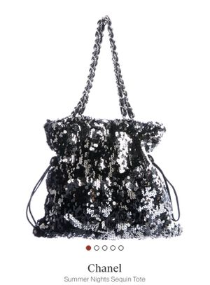 Chanel sequin summer nights tote for Sale in Las Vegas, NV