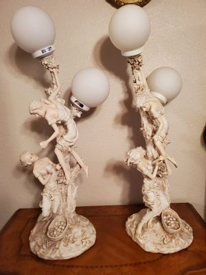 Two antique lamps. Never used for Sale in El Paso, TX