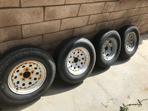 Trailer wheels/tires for Sale in Canyon Lake, CA