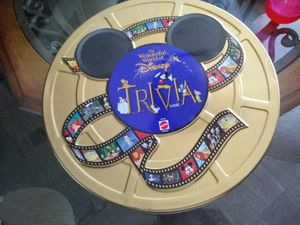 The wonderful world of disney trivia game (tin can) for Sale in Pflugerville, TX