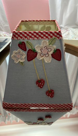 Pottery Barn Kids Lamp Shade Strawberry for Sale in Phoenix, AZ