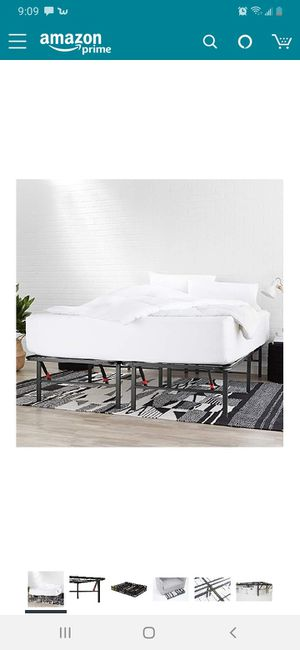 Metal queen bed frame for Sale in Gresham, OR