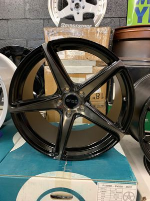 Bmw 550i 750i 650i 20x9/10.5 new enso blk tint new rims tires set for Sale in Hayward, CA