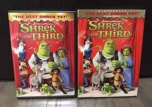 Shrek The Third With Case DVD for Sale in Winter Garden, FL