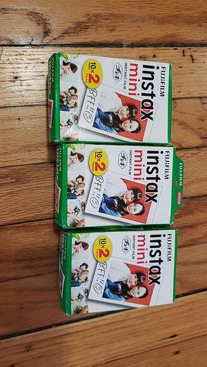 Instax mini color film for Sale in Chicago, IL