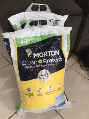 Water softener pellets salt free for Sale in Fontana, CA