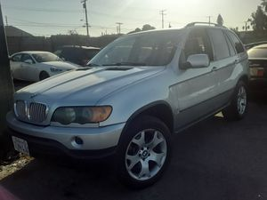 2002 bmw x5 low miles NEEDS TRANSMISSION WORK for Sale in Covina, CA